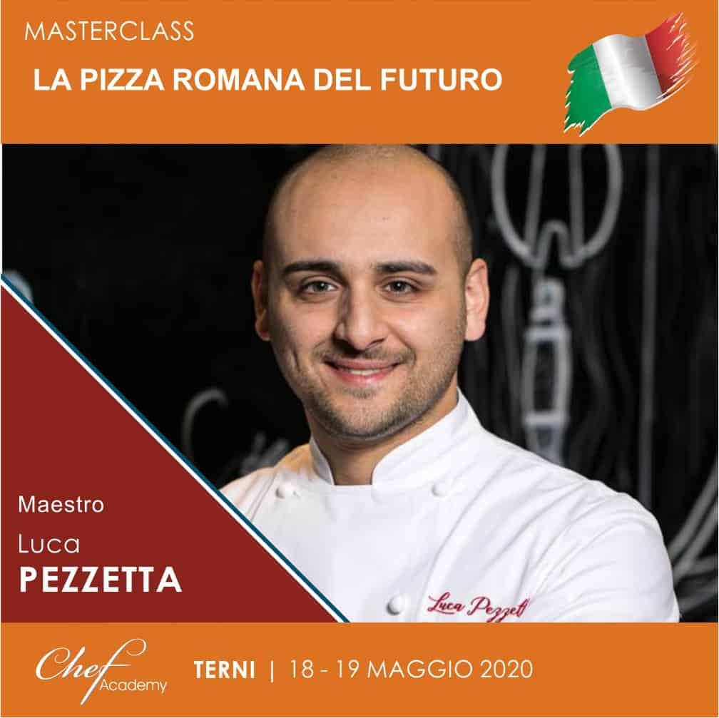 """MasterClass Pratica """"La Pizza Romana del Futuro"""" secondo Luca Pezzetta"""