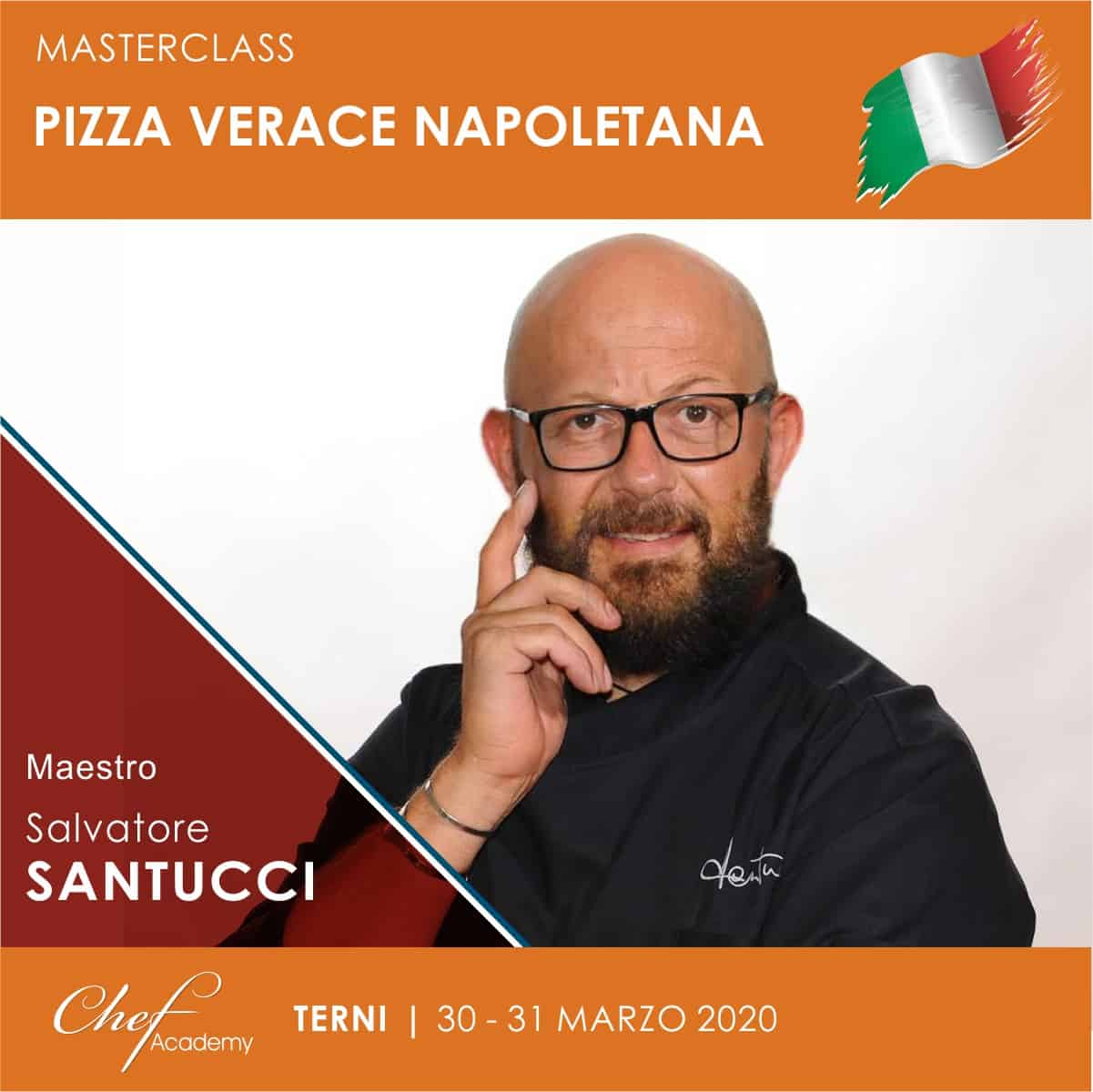 """MasterClass Pratica """"La pizza Verace Napoletana"""" secondo il Maestro Santucci"""