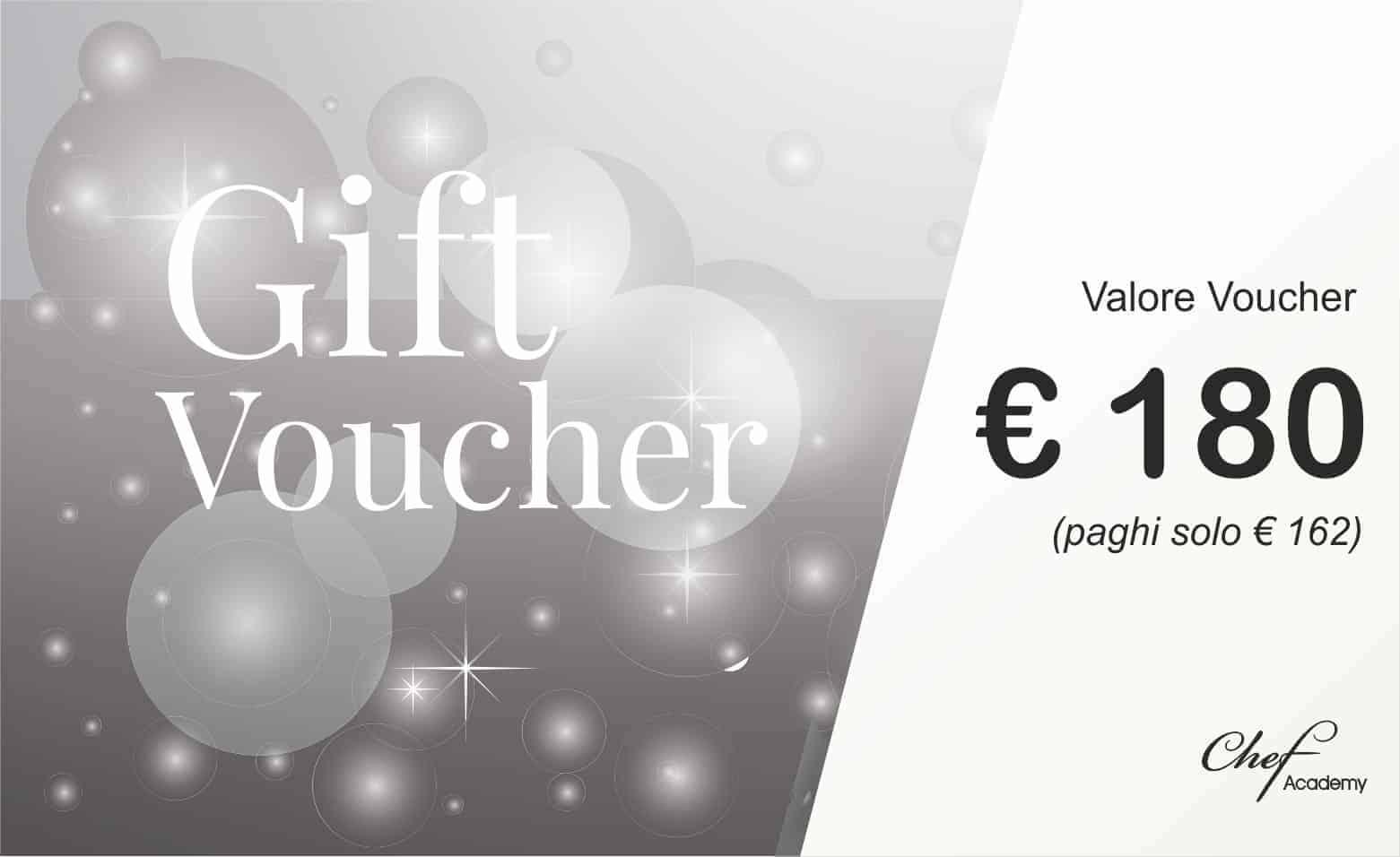 VOUCHER SILVER - 180€