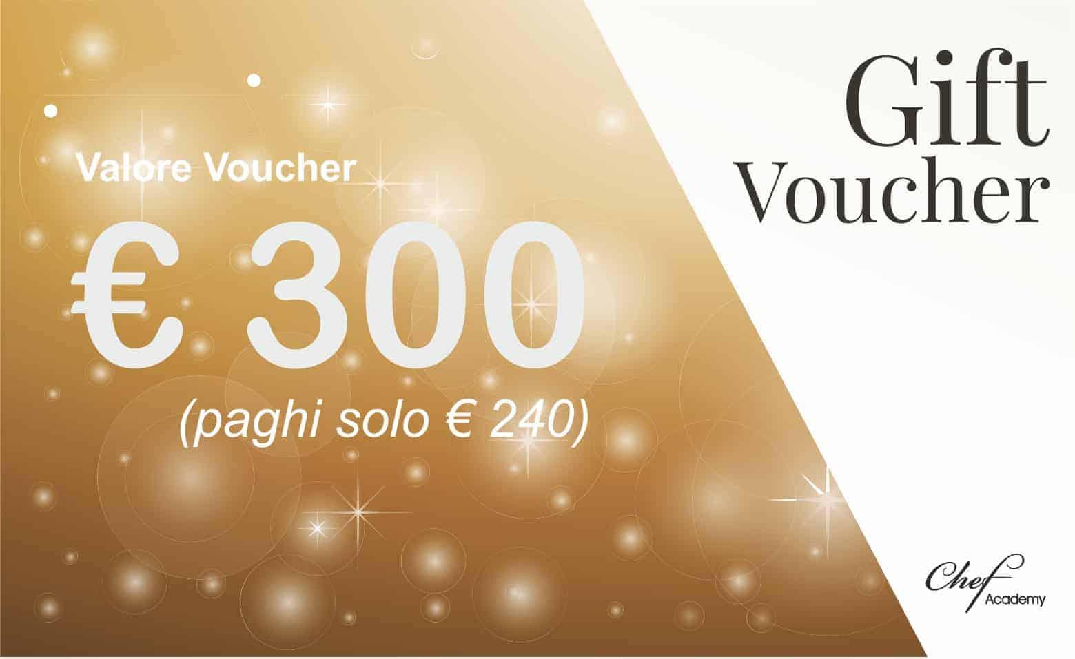 VOUCHER GOLD - 300€